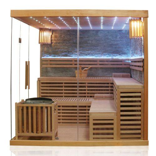 Klassische Sauna SARNIA PLUS 2 200×200